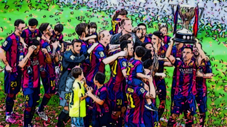 Fantasy Football Portal - La Liga Champions - Barcelona