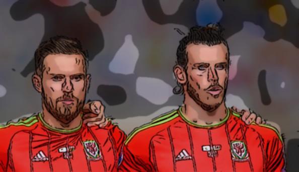 Fantasy Football Portal - Aaron Ramsey and Gareth Bale - Wales