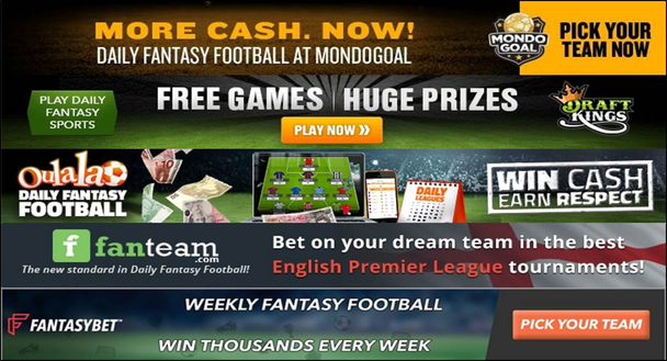 Fantasy Football Sites