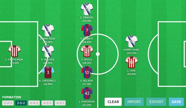 Fantasy Football Portal - Team of the Week